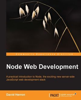 Node Web Development, David Herron