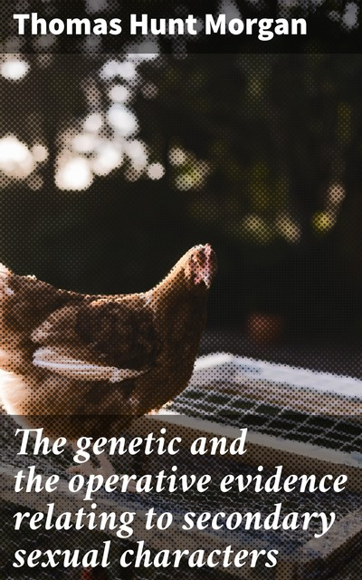 The genetic and the operative evidence relating to secondary sexual characters, Thomas Hunt Morgan