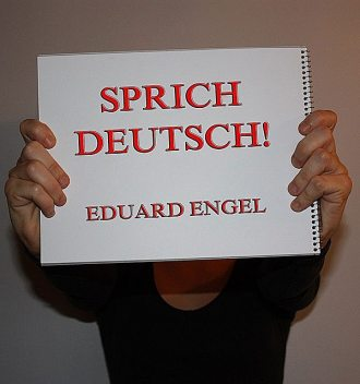 Sprich deutsch, Eduard Engel