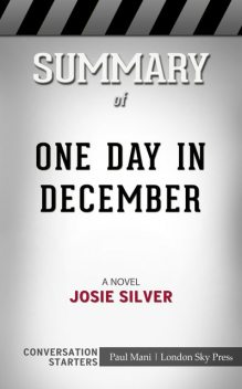 Summary of One Day in December: A Novel: Conversation Starters, Paul Mani
