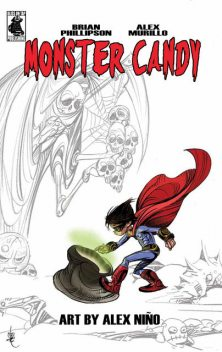 Monster Candy: A Very Alien Halloween, Brian Phillipson, Alex Murillo