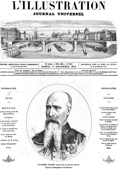 L'Illustration, No. 1601, 1 novembre 1873, Various