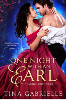 One Night with an Earl (Daring Ladies), Tina Gabrielle