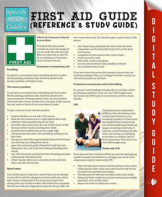 First Aid Guide (Reference & Study Guide) (Speedy Study Guide), Speedy Publishing