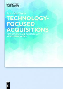 Technology-focused Acquisitions, Jan Paul Stein