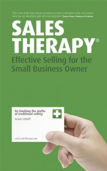 Sales Therapy, Grant Leboff