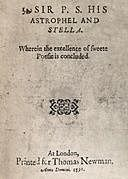Sir P.S.: His Astrophel and Stella, Philip Sidney