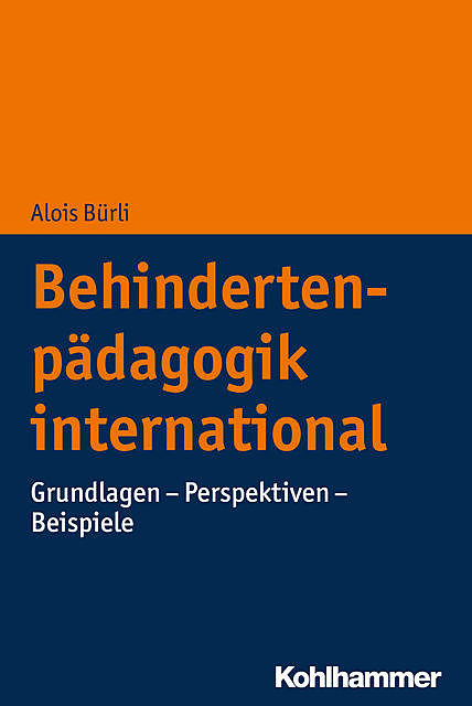 Behindertenpädagogik international, Alois Bürli