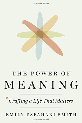 The Power of Meaning: Crafting a Life That Matters, Emily Smith