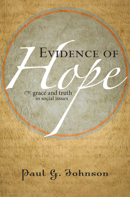 Evidence of Hope, Paul Johnson