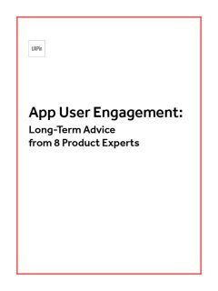 App User Engagement: Long Term Advice from 8 Product Experts, UXPin