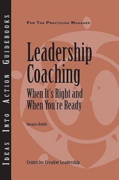Leadership Coaching, Douglas Riddle