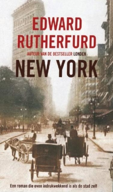 New York, Edward Rutherfurd
