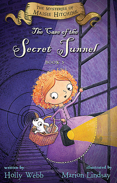 The Case of the Secret Tunnel, Holly Webb