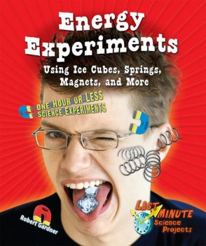 Energy Experiments Using Ice Cubes, Springs, Magnets, and More, Robert Gardner