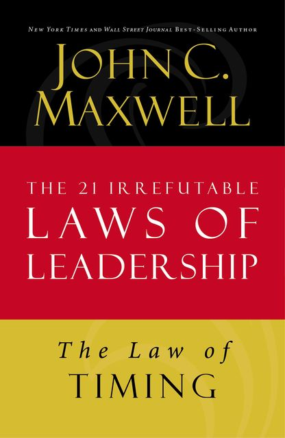 The Law of Timing, Maxwell John