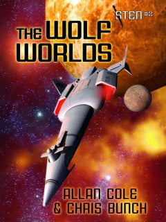The Wolf Worlds (Sten #2), Chris Bunch, Allan Cole