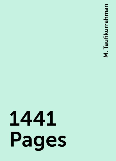1441 Pages, M. Taufikurrahman