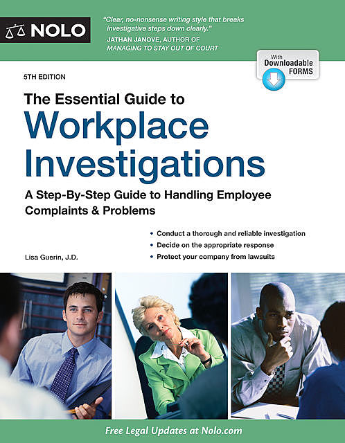The Essential Guide to Workplace Investigations, The, Lisa Guerin