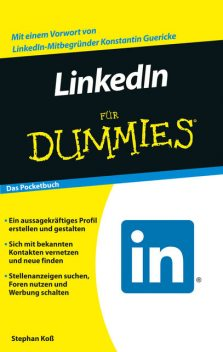LinkedIn fr Dummies, szlig, Stephan Ko