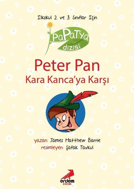 Peter Pan Kara Kanca'ya Karşı, James Matthew Barrie