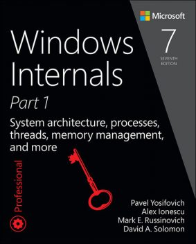 Windows Internals, Part 1: System architecture, processes, threads, memory management, and more, David A. Solomon, Pavel Yosifovich, Alex Ionescu