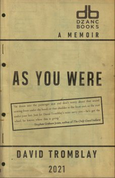 As You Were, David Tromblay