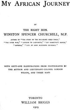 My African Journey, Winston Churchill