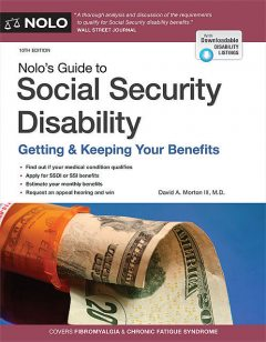 Nolo's Guide to Social Security Disability, David A.Morton III