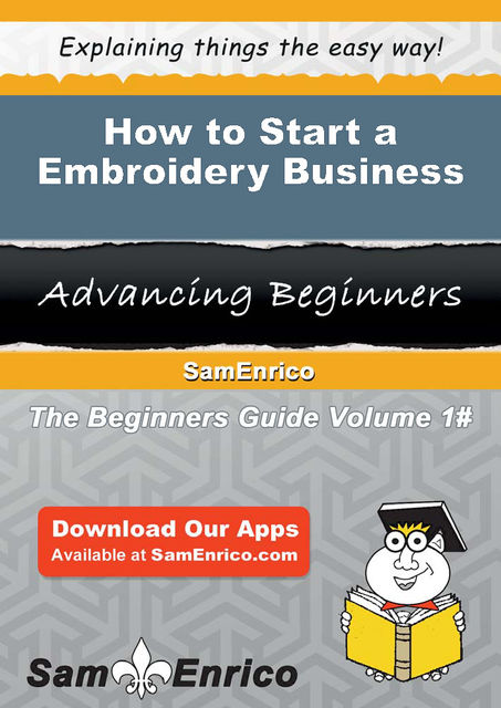 How to Start a Embroidery Business, Minnie Scott