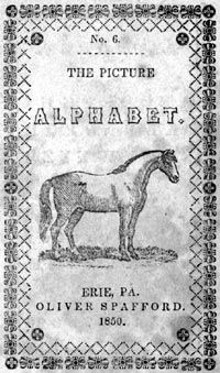 The Picture Alphabet, Oliver Spafford