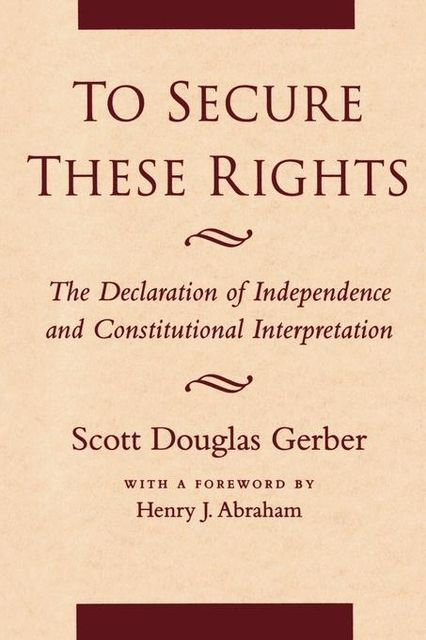 To Secure These Rights, Scott Gerber