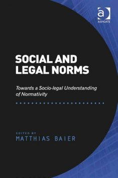 Social and Legal Norms, Matthias Baier