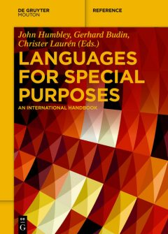 Languages for Special Purposes, Christer Laurén, Gerhard Budin, John Humbley