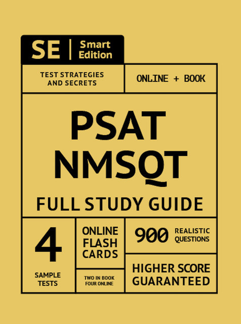 PSAT/NMSQT Full Study Guide 2nd Edition, Smart Edition