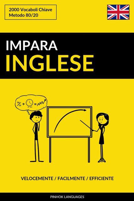 Impara l'Inglese – Velocemente / Facilmente / Efficiente, Pinhok Languages