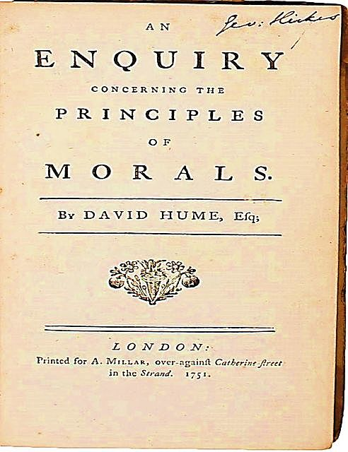 An Enquiry into the Principles of Morals, David Hume, Luka Reid
