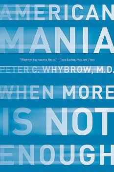 American Mania: When More is Not Enough, Peter C. Whybrow