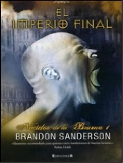 El Imperio Final, Brandon Sanderson
