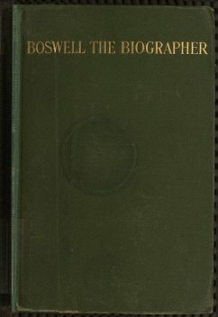 Boswell the Biographer, George Herbert Leigh Mallory