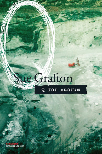 Q for quorum, Sue Grafton
