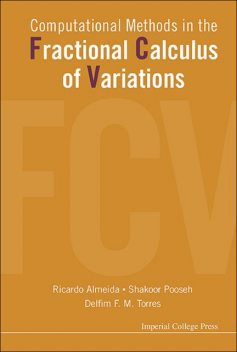 Computational Methods in the Fractional Calculus of Variations, DelfimF.M.Torres, Ricardo Almeida, Shakoor Pooseh