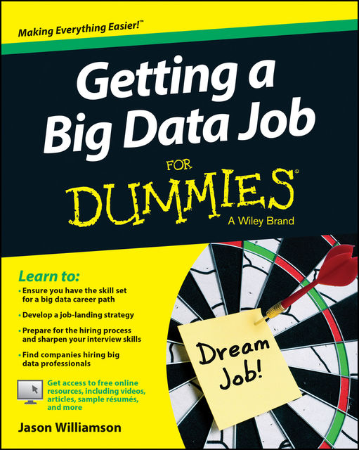 Getting a Big Data Job For Dummies, Jason Williamson