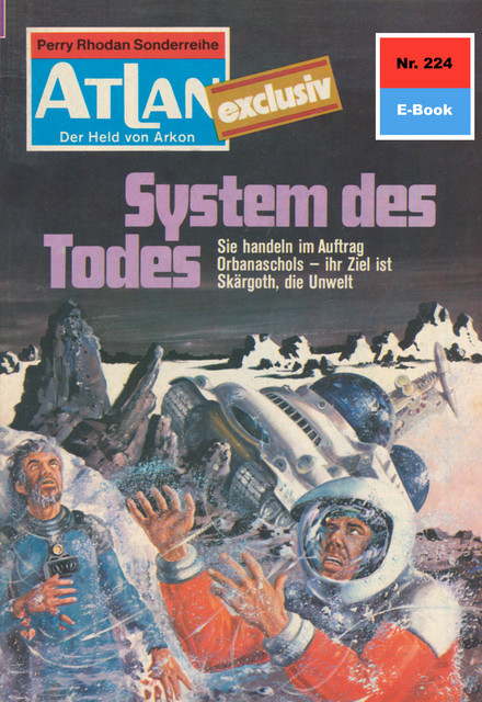 Atlan 224: System des Todes, Marianne Sydow