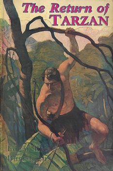 The Return Of Tarzan, Edgar Rice Burroughs