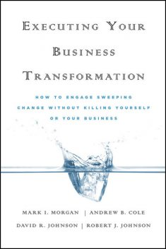 Executing Your Business Transformation, Andrew Cole, Dave Johnson, Mark Morgan, Rob Johnson