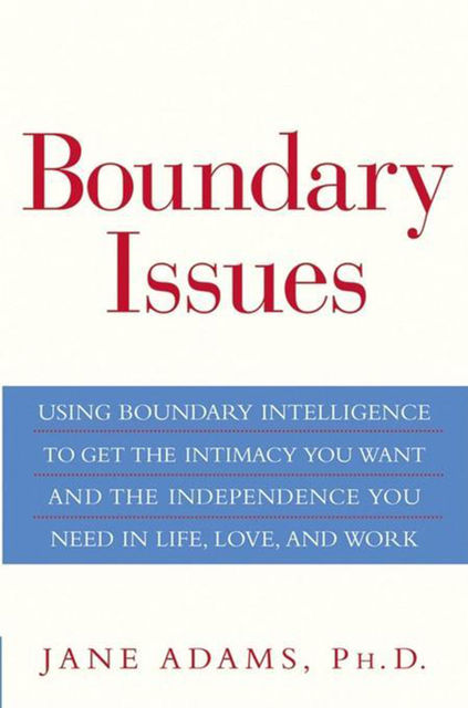 Boundary Issues, Jane Adams