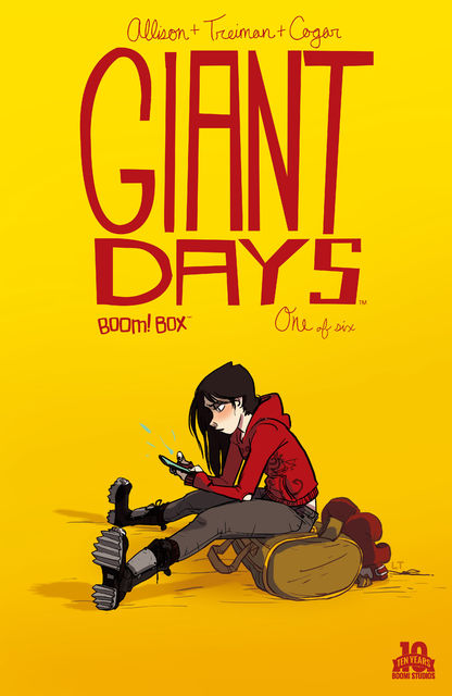 Giant Days #1, John Allison