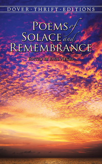 Poems of Solace and Remembrance, Paul Negri