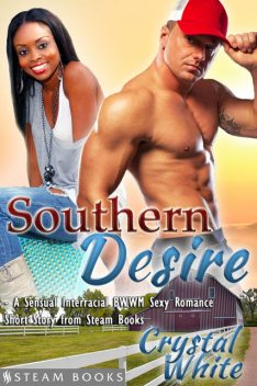 Southern Desire – A Sensual Interracial BWWM Sexy Romance Short Story from Steam Books, Steam Books, Crystal White